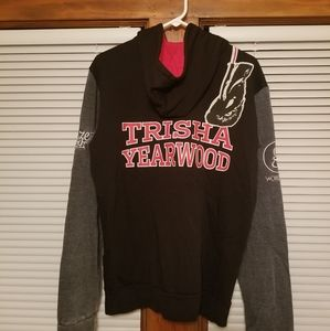 Trisha Yearwood Prize Fighter Tour Zip Hoodie Med